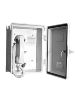 Public Address and General Alarm System Wall Receiver