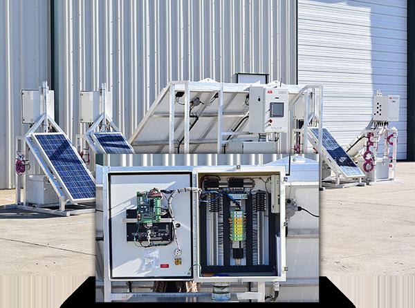 Renewable Energy Solar Power Skids
