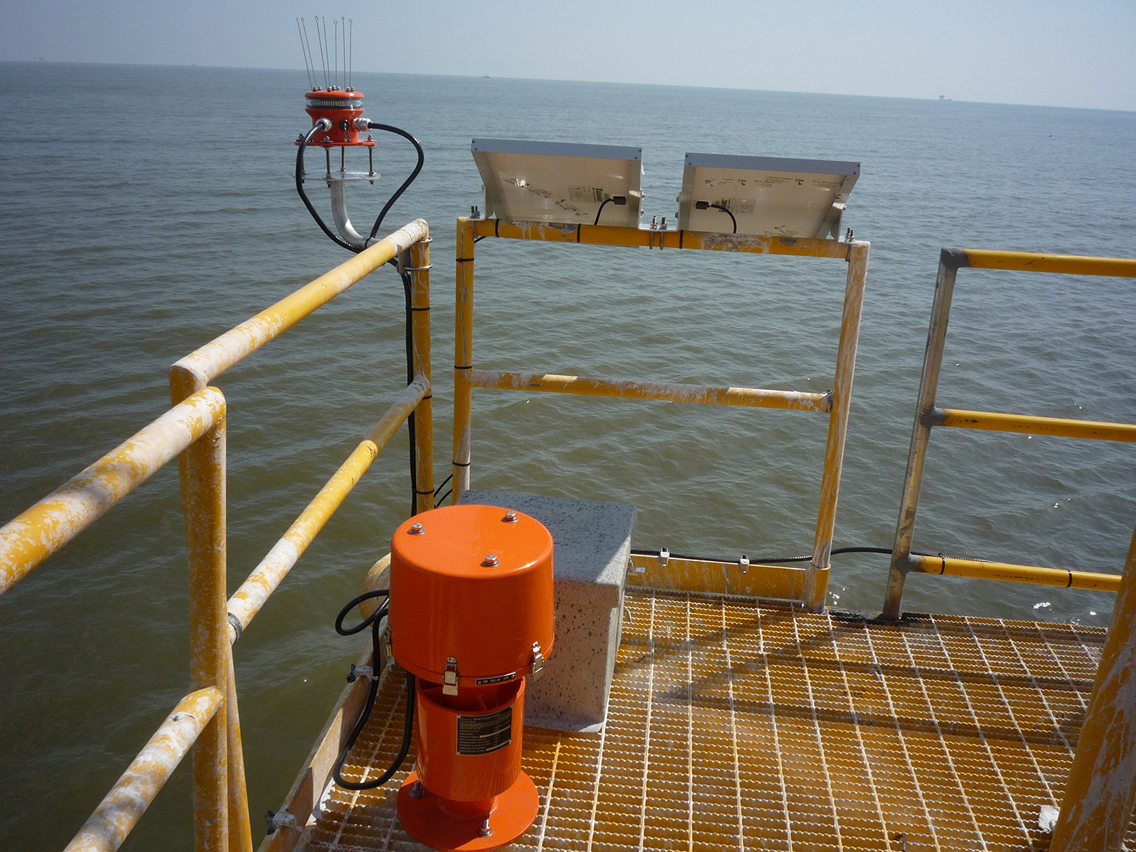 maritime foghorn aid to navigation